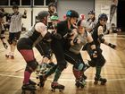 THE YEPPOON Roller Derby team steamrollered over the Beef City Brawlers at the Xsmash in July roller derby match at CQUniversity on Saturday.