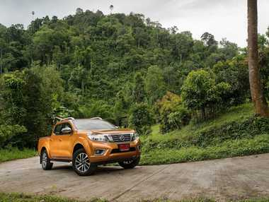"The new ""D23"" Nissan Navara will arrive in Australia early next year."