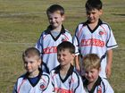 JUST FOR FUN: The boys from Richmond Rovers Grade 7 Purple non-competitive soccer team.