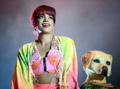 THE British singer dialed up the fun factor in her colourful show, closing out the three-day festival on a light, bright note with her tongue-in-cheek pop songs