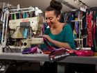 SEATTLE company lets customers create their own clothes, then click 'buy' and wait for delivery.