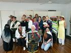 THE Burrum Monday Craft group celebrated its 21st birthday with fashion from around the world, delicious food and a stunning display of various crafts