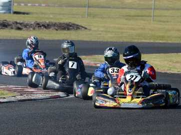 The Juniors took to the track in North Lismore for the Lismore Kart Club July meet.