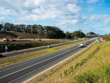The Sapphire to Woolgoolga Pacific Hwy upgrade is set to be officially opened on Wednesday, July 30. Photo: Trevor Veale / Coffs Coast Advocate