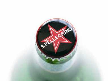 San Pellegrino bottled water