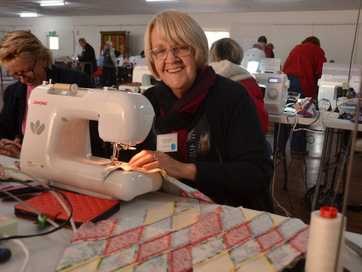 Riverbank Retreat, a social weekend of embroidery and quilting, was a popular July event in Gayndah.