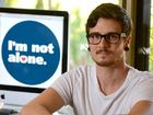 Jamie Fife launches his website 'I'm not alone' to support young gay people in rural communities Photo Lee Constable / Daily Mercury
