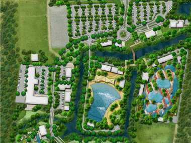 GET WET: The proposed water park on Steve Irwin Way.