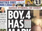 IF ever there was an indication of the gulf that can exist between the tabloid press and real news it's today's front page of The Sun.