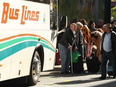 ALL ABOARD: The Murgon to Brisbane bus service changes begin on Monday August 4.