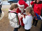 WITH the carols blaring, the decorations up and a visit from a jolly Santa, Laidley was a scene of festive cheer.
