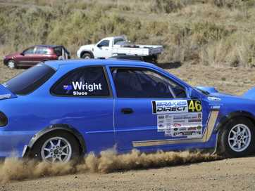 A taste of the action to come in the Border Ranges Rally.