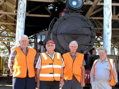 IN NEED: Southern Downs Steam Railway want a permanent diesel locomotive as back up when their steam train is undergoing repairs, as is the case at the moment.