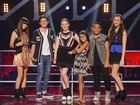The Voice Kids grand finalists: Bella, Chris, Grace, Alexa, Ruhi and Maddison.