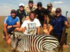 ALL Blacks in strife as big game hunting images emerge