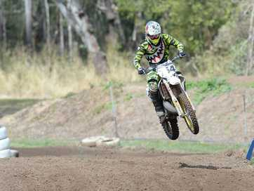 Action from the motocross meet at 6 Mile on Sunday 10 August.   Photos: Chris Ison