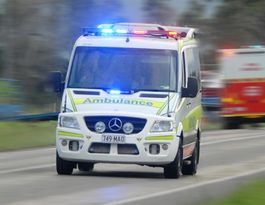 Man in hospital after produce truck rollover at Childers