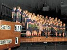 LISMORE'S annual musical eisteddfod has opened with the sounds of singing, with primary school choirs from  the district taking to the stage with gusto.