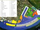 The concept masterplan being considered for a proposed Ballina marina.