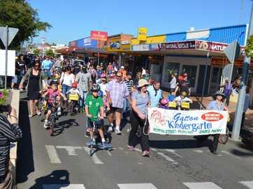 Gatton Kindergarten Bike-a-thon, August 9 2014