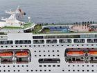 Welcome P&O; Cruises: Pacific Pearl Inaugural visit to the Sunshine Shine Coast Mooloolaba. Photo Patrick Woods / Sunshine Coast Daily