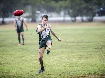 BITS Saints won over Mudcrabs by 50 points in a rain-drenched match on Saturday.