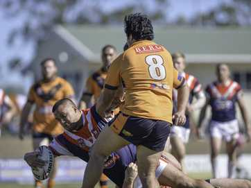 Calliope Roosters defeated Wallabys 36-32 despite having only 12 men on the field.