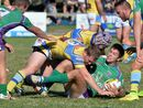 A FIELD goal 10 seconds from full-time has put Whitsunday one game away from the Mackay rugby league grand final, while Souths are teetering on the edge.