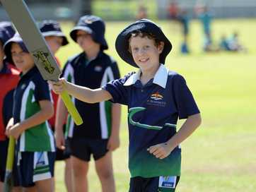 Children from the Capricorn Coast were treated to a T20 cricket camp held at the Yeppoon Showgrounds recently where the coaching staff included cricket great Ian Healy.