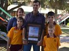 EVEN though their father didn't win the Queensland Father of the Year award; David, Tim and Matthew Geissler know their dad Darren is the best in the world.