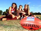 UNTIL now, young female footy players on Bribie Island haven't had many options once they hit their teens.