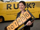 A BRIGHT yellow bus emblazoned with the words 'R U OK?' was parked at the Kershaw Gardens in Rockhampton to promote suicide prevention yesterday.