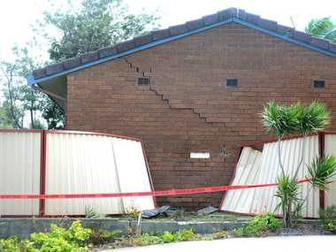 Car drove into home in Tweed Heads Photo: John Gass / Tweed Daily News