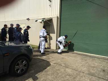 Police have raided the clubhouses of the Rebels and Nomads motorcycle gangs in Coffs Harbour today.
