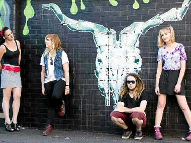 ON THE STREET: The Snatchettes will perform at the Art vs Science Riverside Festival on Sunday.
