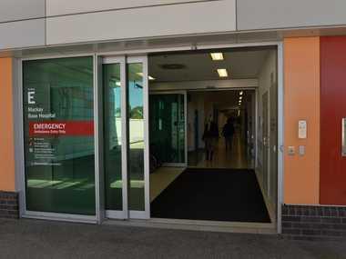 Base Hospital Emergency department.