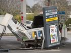 <strong>BREAKING:</strong> FUEL bowsers have been isolated and customers turned away from the Caltex Woolworths in Wilsonton after a car crashed into a bowser.