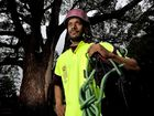 TINTENBAR tree climber Mark Gistitin will be one of 43 competitors racing to reach the top in this weekend's tree climbing championships at Bangalow.
