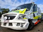 MEDICAL help was on hand sooner than usual after a crash on the Bruce Hwy on Wednesday night.