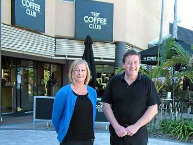 JUNCTION FIGHT-BACK: Sue Pollard and Keith Bollen are part of the new Noosa Junction association.