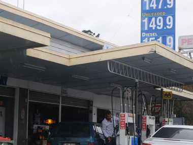 Gatton businesses like this service station are facing massive rate rises from Lockyer Valley Regional Council.