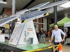 THE prototype SCU Sunflower mobile solar system was just one of many exhibits and activities at Lismore's Arts vs Science Festival yesterday.