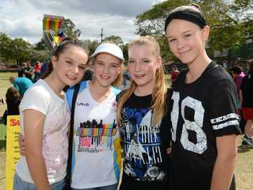 Under a clear blue sky, hundreds of families from across Ipswich came to join in the fun and festivities Brassall State School Fete on Sunday.