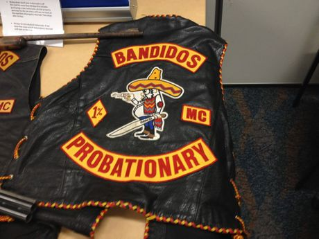 Guns, drugs and an extensive range of Bandidos motorcycle club paraphernalia were allegedly seized from a Laidley home.