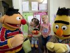 Sesame Street's Bert and Ernie drop in