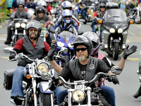 BIKIE LAWS: Helen Nester fondly remembers annual motorcycle club toy runs in Ipswich.