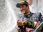 Ricciardo cashes in on Mercedes bust-up