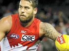 A 70-YEAR-OLD Victorian man has been charged with offensive behaviour after allegedly racially vilifying Sydney Swans stars Lance Franklin and Adam Goodes.