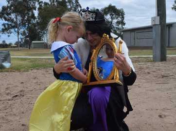 Students bring their favourite characters to life at the Tara Book Week parade.