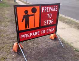 Roadworks start on Hazeldean Rd